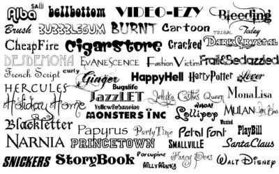 Cómo identificar el tipo de letra utilizada en cualquier página web